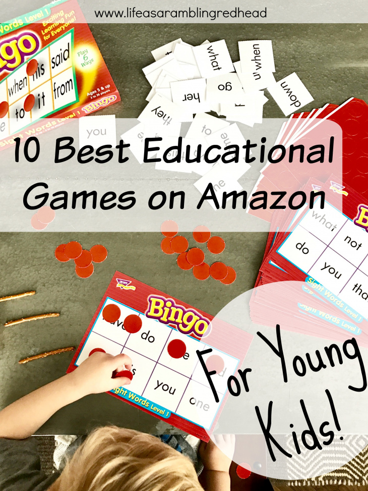 Best Educational games on Amazon for young kids! Great guide! (Life as a Rambling Redhead)
