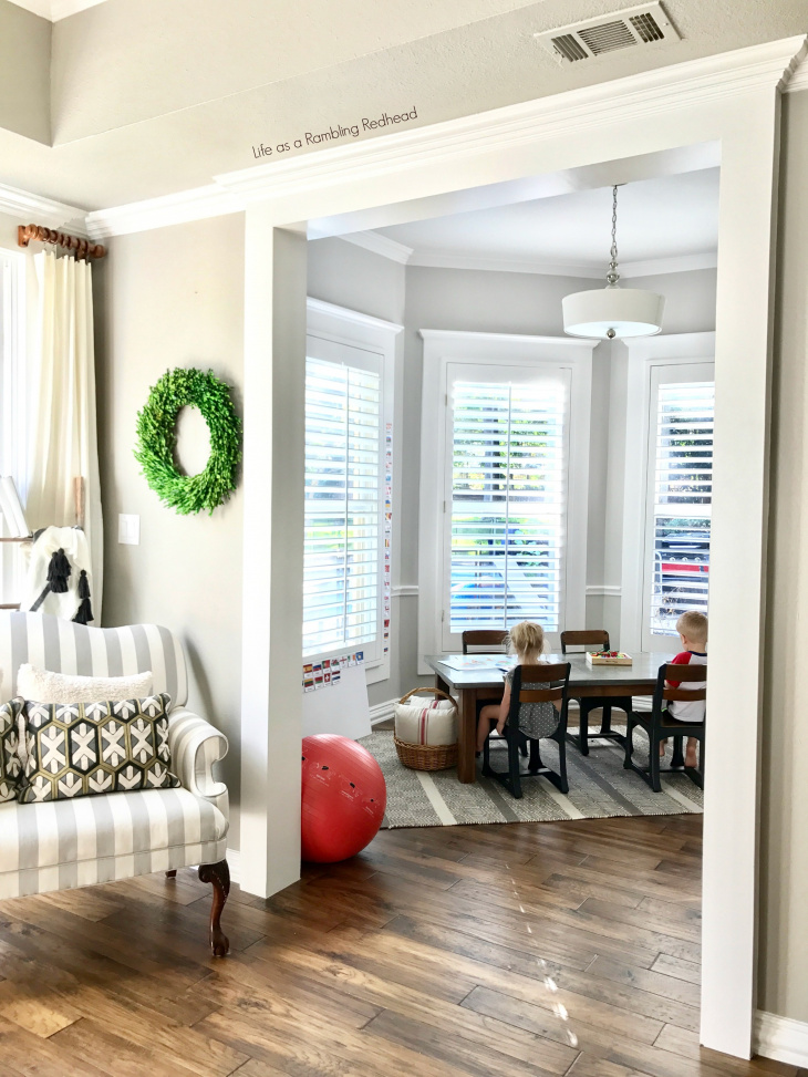 Amazing Kid's School Room Tour!! Simple and so much natural light!