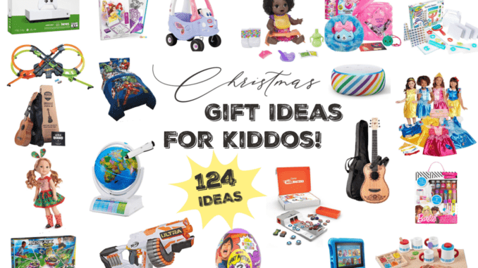 Kids Christmas Gift Guide 124 Amazon Gift Ideas For Every