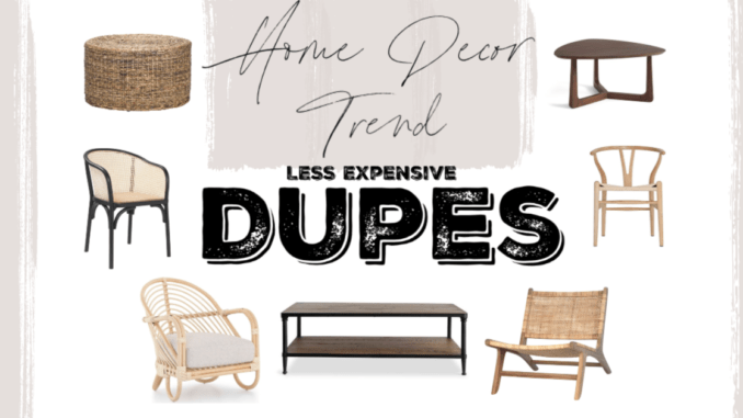 Home Decor Trend Dupes Life As A Rambling Redhead