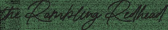 The Rambling Redhead logo